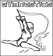 13 Beste Afbeeldingen Van Sport Gymnastics Coloring Pages