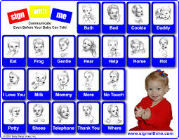 Baby Sign Language Chart Baby Sign Language Chart Lovetoknow