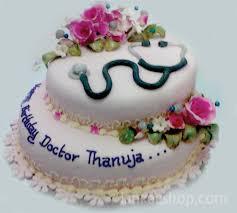 Birthday Cake With Flowers Doctor Theme Sri Lanka Online