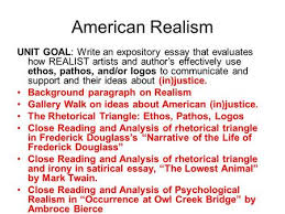 native voices after annotating passages from native american american realism unit goal write an expository essay that evaluates how realist artists and author s
