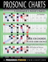 Amazon Com Fretboard Chord Charts For Guitar 9780988963962