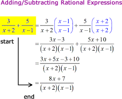 adding subtracting rational expressions like partial fraction decomposition chilimath
