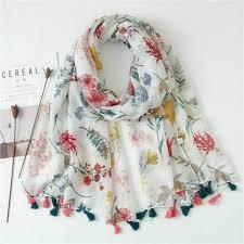 women cotton shawl summer large