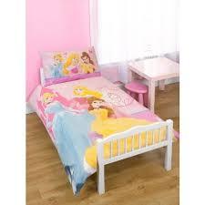 Childrens/Kids Girls Disney Princess Junior Bed Quilt/Duvet Cover ... & Childrens/Kids Girls Disney Princess Junior Bed Quilt/Duvet Cover Bedding  Set (Junior Adamdwight.com