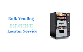 Vending Machine Locator Service Awesome If You Have A Bulk Candy Machine And Looking For A High Traffic