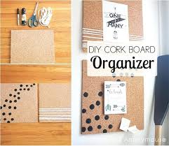 anonymous cork board frame and organizer cute boards ideas