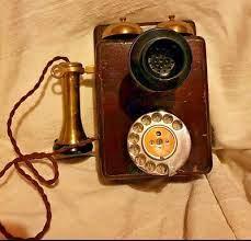 121 wall mounted telephone rare g p o