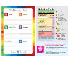 Grocery Lsit Myplate Grocery List