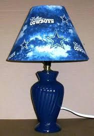 dallas cowboys table lamp cowboys table lamp cowboy fabric lamp shade lampshade navy lamp football sports