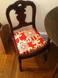 reupholstered dining room chair