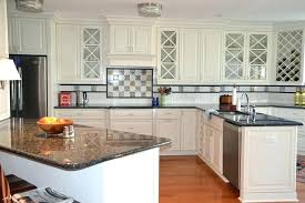 white cabinets with brown kitchen dark granite floors countertops pictures of