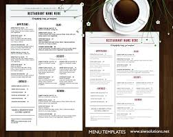 Word Restaurant Menu Templates French And Restaurant Menu Template A Food Drink Word Wedding