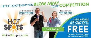 advertisement noco hot spots hot spots ad coupon