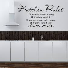 kitchen rules wall art spectacular kitchen wall art stickers prix