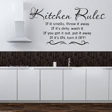 kitchen rules wall art spectacular kitchen wall art stickers prix