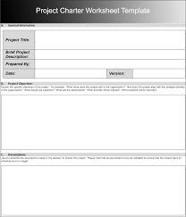 project charter sample 8 project charter templates free word pdf excel formats