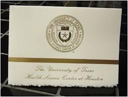 Graduation Announcement Package Uthsc Houston 55 00