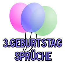 3 Geburtstag Sprüche Kindergeburtstagswünsche