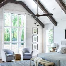 Stylish farmhouse master bedroom decor ideas Modern Farmhouse Example Of Cottage Master Dark Wood Floor Bedroom Design In Atlanta With White Walls And Houzz 75 Most Popular Farmhouse Master Bedroom Design Ideas For 2019