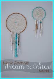 Make Native American Dream Catchers TUTORIAL Native American Dream Catcher Wall Decor Vanilla Joy 86
