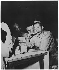 even the winners are losers generals die in bed by charles yale   ier eating matzo circa 1945