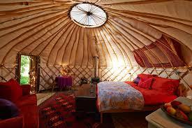 Kingfisher Yurt Chiltern Yurt Retreat Interior