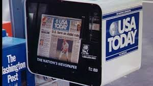Newspaper Vending Machine Locations Interesting Gannett To Spin Off USA Today And Print Business WJLA