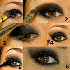 8 create an eyeshadow template scotch tape