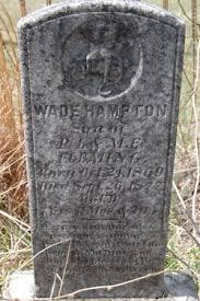 Wade Hampton Fleming (1869-1877) - Find A Grave Memorial