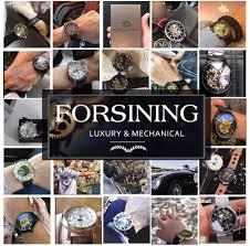 <b>Forsining</b> 2017 <b>Silver Stainless</b> Steel Waterproof Mens Skeleton ...