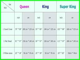 Bed Size Chart Zappyshow Com