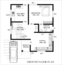 3 cent house plan drawing home and