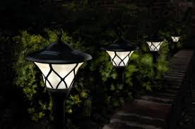 image of outdoor solar lights garden