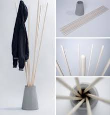 Make Standing Coat Rack Gives me an idea of a coat stand to make Steuart Padwick Products 41