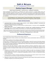 Amazing Resume Desktop Support Technician Images Simple Resume