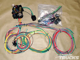 aftermarket wiring harness install hot rod network though the process is nearly the same in most cases ez wiring manufactures the aftermarket 337661 22