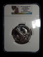 2016 5oz silver 25c el yunque early releases ms69 pl