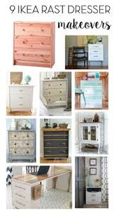 9 ikea rast dresser makeovers check beautiful diy ikea
