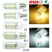 Solid State Light Bulbs E27 Gu10 E14 G9 B22 Led Lights Lamp 5730smd Bright Energysaving Corn Bulbs 7 25w Ebay