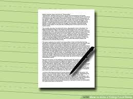 how to write a college level essay steps pictures image titled write a college level essay step 6
