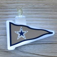 nfl dallas cowboys led pennant string lights battery operated