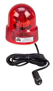 wolo lighting. Wolo (3110-R) Beacon Light Rotating Emergency Warning - 12 Volt, Lighting
