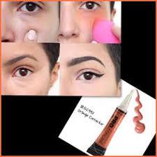 hide those dark under eyes with orange concealer laproconceal cosmetics makeupjunkie