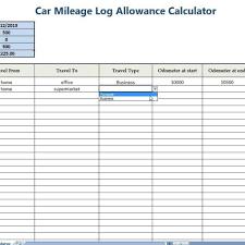 Mileage Spreadsheet For Taxes Laobingkaisuo For Vehicle Expense Log