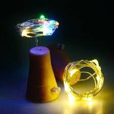 bottle lights diy cork shaped string lights led night light battery powered wine bottle lights waterproof