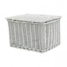 amigo bicycle basket willow front 46 5