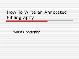 How To Do A Annotated Bibliography  How To Do A Pinterest