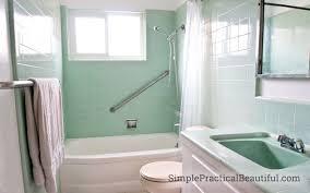 refinishing a colored bathtub