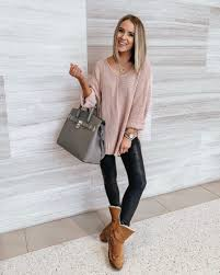 20 ways to style spanx faux leather leggings style blogger lauren meyer shares 20