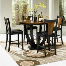 contemporary five piece counter table and chair set